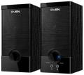 Колонки Sven SPS-603 black 2x3W/5V USB дерево (MDF)