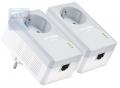 Адаптер TP-Link Powerline Ethernet TL-PA4010PKIT , 500 Мбит/с, +розетка, 2 шт в комплекте