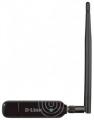Адаптер USB беспроводной D-Link DWA-137 2,4 ГГц, до 300Мбит/с, съемная антенна 5dBi
