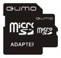 Карта памяти microSD  2Gb Qumo + SD Adapter