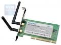 Беспроводный PCI адаптер TP-Link TL-WN851ND 300 Mbps, 802.11b/g/n, 2.4GHz, Atheros, 2 съемные антенны 2x2 MIMO