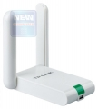 Беспроводный USB2.0 адаптер TP-Link TL-WN822N 300 Mbps, 802.11b/g/n, 2.4GHz, Atheros ,2T2R, QSS button, autorun utility, elegant desktop housing, USB extension cable, 2 fixed antennas