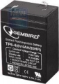 Батарея аккумуляторная Gembird 6V/4,5Ah