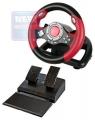 Игровой руль Defender Challenge Mini LE 8 кнопок + два подрулевых переключателя + восьмипозиционный переключатель видов,Струбцина для крепления (64351)