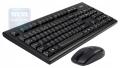 Комплект клавиатура+мышь A4 3100N черный 2.4G наноприемник USB