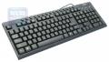 Клавиатура Gembird KB-8300M-BL-R, PS/2, черная, 15 м/мед клавиш