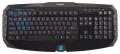 Клавиатура Zalman ZM-K300M USB black,мультимедийная, 20 доп клавиш, 8 заменяемых клавиш синего цвета, лазерное нанесение букв