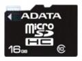 Карта памяти microSD 16Gb A-Data SDHC Class 10