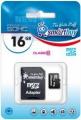 Карта памяти microSD 16Gb Smart Buy Class 10+SD