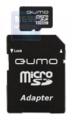 Карта памяти microSDHC 32Gb Qumo Class 10+SD адаптер