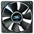 Вентилятор для корпуса DeepCool Xfan 120 120x120x25мм  (пит. от мат.платы и БП, черный, 1300об/мин)  Retail