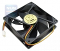 Вентилятор для корпуса Gembird FANCASE 80x80x25, втулка, 3 pin, провод 30 см