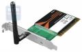 Сетевая карта D-Link DWA-525 PCI 802.11n ( 150 мбит/с ) OEM