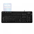 Клавиатура A4 KD-126 белая подсветка символов, слим, 5 доп. клавиш, USB