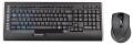 Комплект клавиатура+мышь A4 9300F черный 2.4G наноприемник USB, 9 доп. клавиш