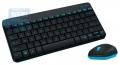 Комплект Logitech MK240 Wireless Combo Black USB (920-005790)