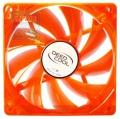 Вентилятор для корпуса DeepCool Xfan 120U O/G 120x120x25мм (пит. от мат.платы и БП, оранжевый, зеленая подсветка , 1300об/мин)