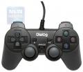 Игровой геймпад Dialog GP-A11 Action - вибрация, 12 кнопок, USB, черный
