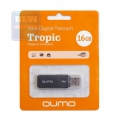 Флеш диск 16Gb Qumo Tropic Black
