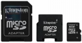 Карта памяти microSD 16Gb Kingston SDHC Class 10