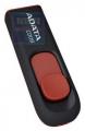 Флеш диск 32Gb A-Data C008, чёрно-красный