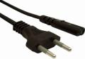 Кабель питания Gembird 1.8м для ноутбуков, аудио/видео техники, 2-pin, 2.5Aм [PC-184/2-1.8М]