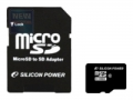 Карта памяти microSD 16Gb Silicon Power Class 10+SD