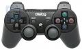 Игровой геймпад Dialog GP-A17 Action - вибрация, 12 кнопок, PC USB/PS3, черный