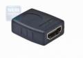 Переходник HDMI-HDMI Gembird 19F/19F, золотые разъемы [A-HDMI-FF]