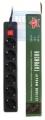Сетевой фильтр Гарнизон EHB6 1,8м 6р черный