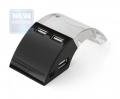 Концентратор USB 2.0 Konoos UK-19, 4 порта USB, с подсветкой