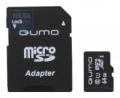 Карта памяти microSDXC 64Gb Qumo Class 10 +SD UHS-1 3.0