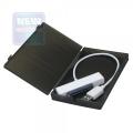 "Внешний корпус AgeStar SUBCP1 (BLACK) USB2.0, 2.5"" SATA HDD/SSD пластик, черный, безвинтовая"