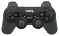 Игровой геймпад Dialog GP-A11RF Action - RF 2.4G вибрация, 12 кнопок, USB, черный