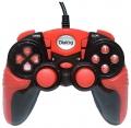 Игровой геймпад Dialog GP-A15 Action - вибрация, 12 кнопок, USB, черно-красный