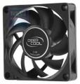 Вентилятор для корпуса DeepCool Xfan 70 70x70x15мм (пит. от мат.платы, черный пластик, 3000об/мин)
