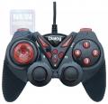 Игровой геймпад Dialog GP-A13 Action - вибрация, 12 кнопок, USB, черно-красный