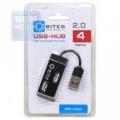 Разветвитель USB 2.0 5bites HB24-201BK