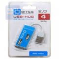 Разветвитель USB 2.0 5bites HB24-201BL