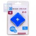 Разветвитель USB 2.0 5bites HB24-202BL