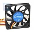 Вентилятор для корпуса 5bites F6010S-3 60x60x10мм, подшипник скольжения, 3500RPM, 26dBa, 3 pin