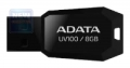 Флеш диск 8Gb A-Data UV100 Black