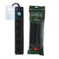 Сетевой фильтр Гарнизон ЕНLB-5 1.4 м 5 р черный
