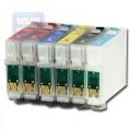 Картриджи перезаправляемые INKO Epson T0801-T0806  для Epson P50 (T0801-806) Revcol для P50, PX660, PX720WD, PX820FWD