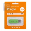 Флеш диск 8Gb Qumo Tropic Green (QM8GUD-TRP-Green)