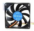 Вентилятор для корпуса 5bites F8015S-3 80x80x15мм, подшипник скольжения, 1600RPM, 23dBa, 3 pin