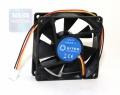 Вентилятор для корпуса 5bites F8025B-3 80x80x25мм, подшипник скольжения, 2000RPM, 23dBa, 3 pin