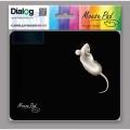 Коврик для мыши Dialog PM-H15 mouse - черный с рисунком мышки