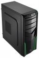 Корпус БЕЗ БП AeroCool V2X Green ATX, USB 3.0