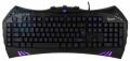 Клавиатура Gembird KB-G100L USB синяя подсветка символов, игровая